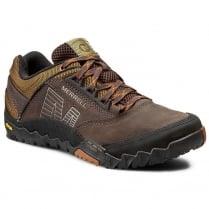 Merrell Mens Annex Dark Earth Trekker Sneakers