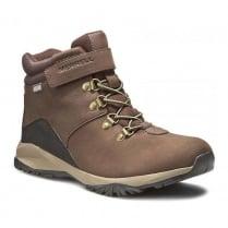 Merrell Kids Alpine Brown Leather Boots