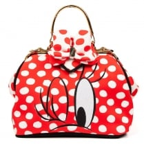 Irregular Choice I Heart Minnie Disney Bag