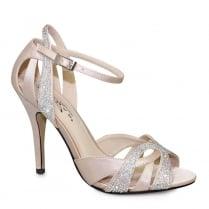 Lunar Naomi Nude Ankle Strap Elegance Heeled Sandal - FLR444