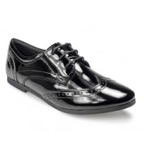 Pod Girls Back to School Tina Black Patent Leather Shoes