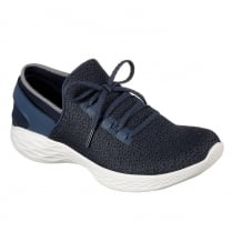 Skechers Womens YOU Inspire Navy Sneakers