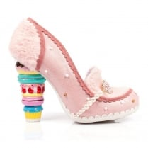 Irregular Choice Macka Ron Pink Occasion Cake Heel Court