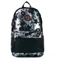 Urban Junk Black/Navy Schoolbag Backpack - Mercury
