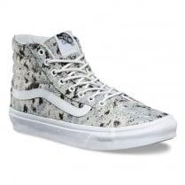 Vans Womens Sk8-Hi Slim Italian Weave Skate Shoe