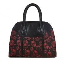 Ruby Shoo Cancun Handbag - Black/Red