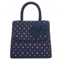 Ruby Shoo Kingston Handbag - Navy/Multi