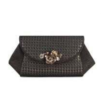 Ruby Shoo Porto Clutch Bag - Bronze