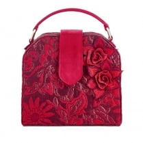 Ruby Shoo Quebec Handbag - Red