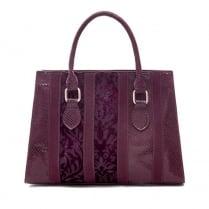 Ruby Shoo Panama Handbag - Burgundy