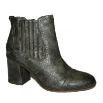 Mustang Womens Dark Grey Heeled Ankle Boots