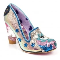 Irregular Choice Lady Misty Unicorn Court Shoe