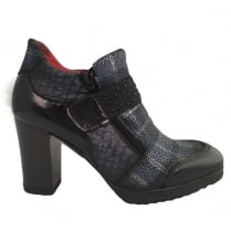Jose Saenz 7143 Navy Ankle Boot