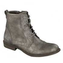 Mustang Ladies Lace Front Ankle Boot