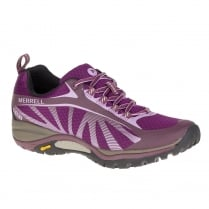 Merrell Womens Siren Edge Purple Waterproof Hiking Trainers