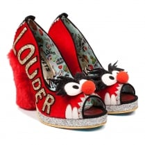 Irregular Choice Muppets - Louder! Louder! Fluffy Heel Shoes