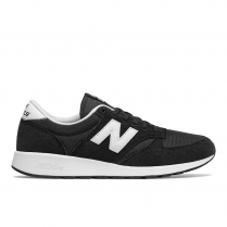 New Balance Men's Sport Style Black Suede 420 Sneakers