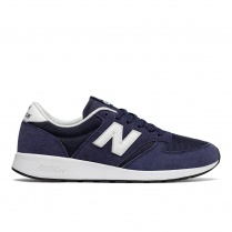 New Balance Men's Sport Style Navy Suede 420 Sneakers