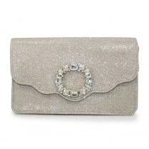 Lunar Hallie ZLR481 Gold Clutch Bag