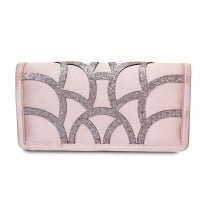 Lunar Dalia ZLR470 Pink Envelope Handbag