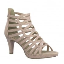 Marco Tozzi Rose Elegant Strappy High Heeled Sandals