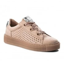 Marco Tozzi Rose Low Platform Casual Lace Up Trainers