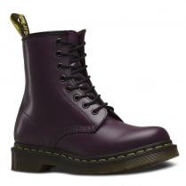 Dr Martens Womens 1460 Purple Ankle Boots