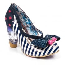 Irregular Choice Wanderlust - Navy