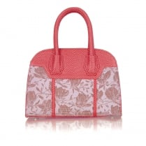 Ruby Shoo Cancun Handbag - Coral