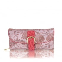 Ruby Shoo Como Purse - Coral
