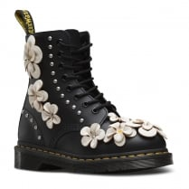 Dr Martens Womens 1460 Pascal Flower Black