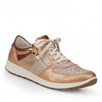 ARA Glendale Women's Comfort Lace-Up Rose Shoes