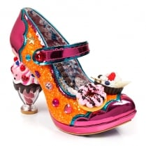Irregular Choice Ice & A Slice - Orange
