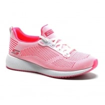 Skechers Womens Bobs Sport Squad Twinning Pink Sneakers