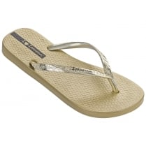 Ipanema Glam Gold Flip Flops