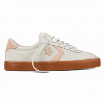 Converse Womens Breakpoint OX Suede Beige Sneakers