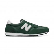 New Balance Mens 420 Green Suede Sneakers