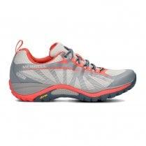 Merrell Siren Edge Womens Walking Shoes - Grey/Orange
