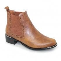 Lunar Alaska Ankle Boots - Tan