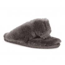 EMU Tova - Charcoal Grey Toe Post Slippers