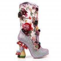 Irregular Choice Angelica Pearson Boot - Pink