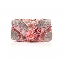 Irregular Choice - Peach Melba Clutch - Pink Bag