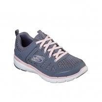 Skechers Womens Flex Appeal 3.0 Sneakers - Slate Pink