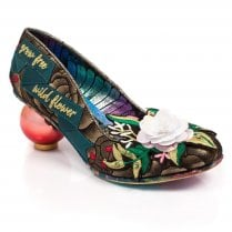 Irregular Choice - Grow Free High Heels - Gold/Green