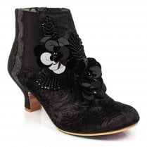 Irregular Choice Magical Mystery Ankle Boot - Black