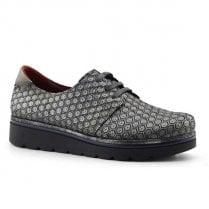 Jose Saenz Grey Lace Up Shoe