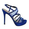 Menbur Womens Blue Croacia Heels Sandals