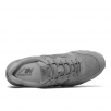 New Balance Womens 996 Grey Suede Sneakers