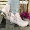 Mustang Women's Rose Low Heel Ankle Boot