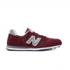 New Balance ML373 Unisex Burgundy Suede Sneakers